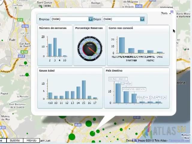 Atlas SBI - Situar información en mapas